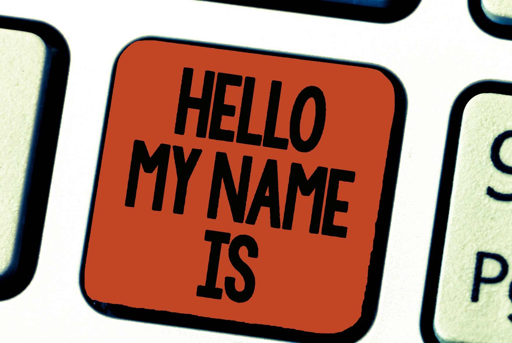 Qué es el naming, el poder de los nombres